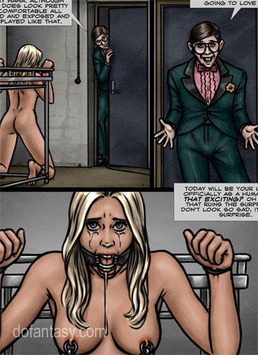 Female nerd bondage — img 11