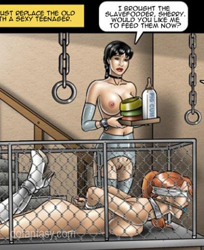 Teen Mistress Old Slave