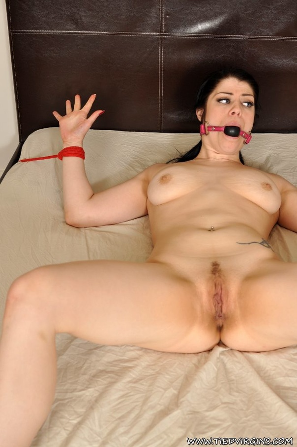 Tied down to lose virginity pron asking