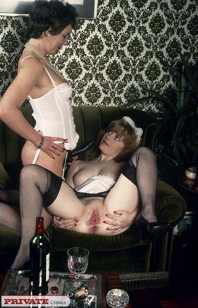 горничная винтажное порно