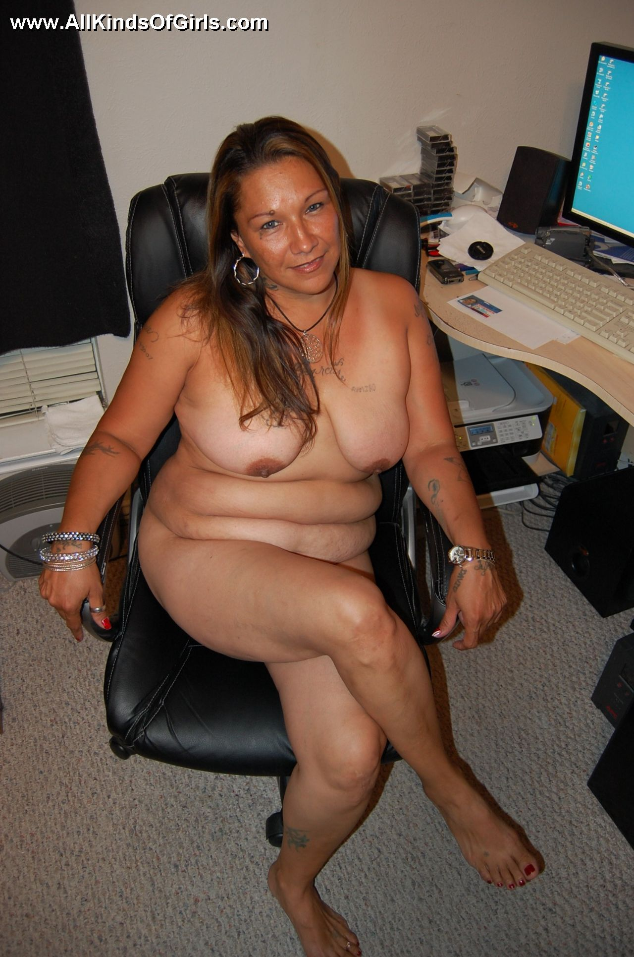 Fat nude mexican wife