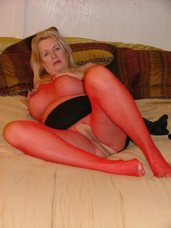 English granny susan is up to no good in her tights 1