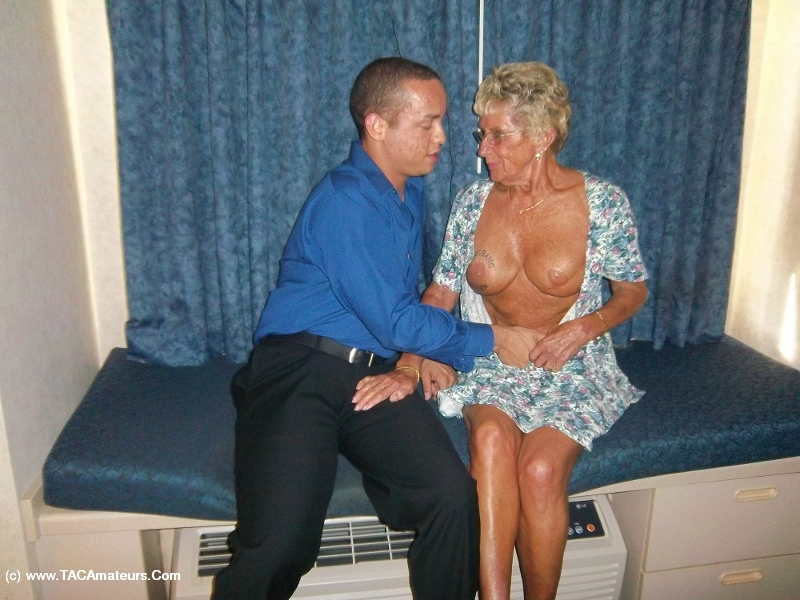 Granny having sex in the church