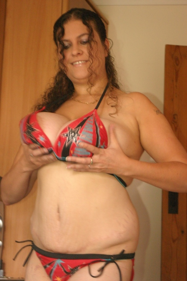 Denise davies chubby with big natural tits threesome dp 5