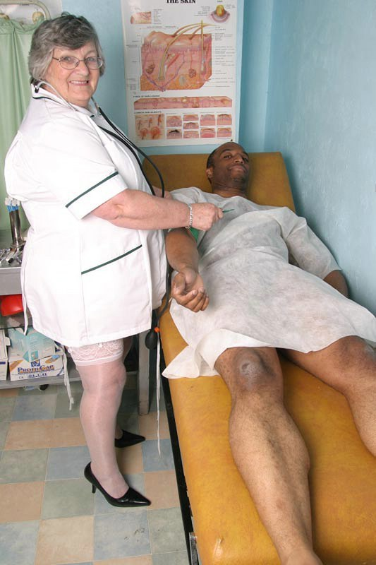 A horny nurse is a good nurse