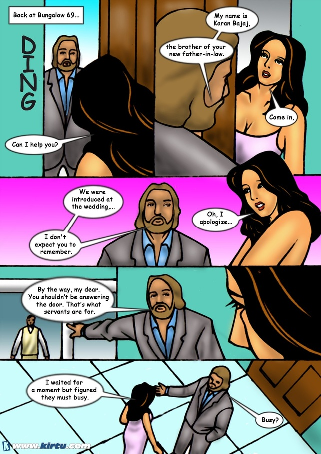 Awesome collection of Indian porn comics with dirty - Picture 6