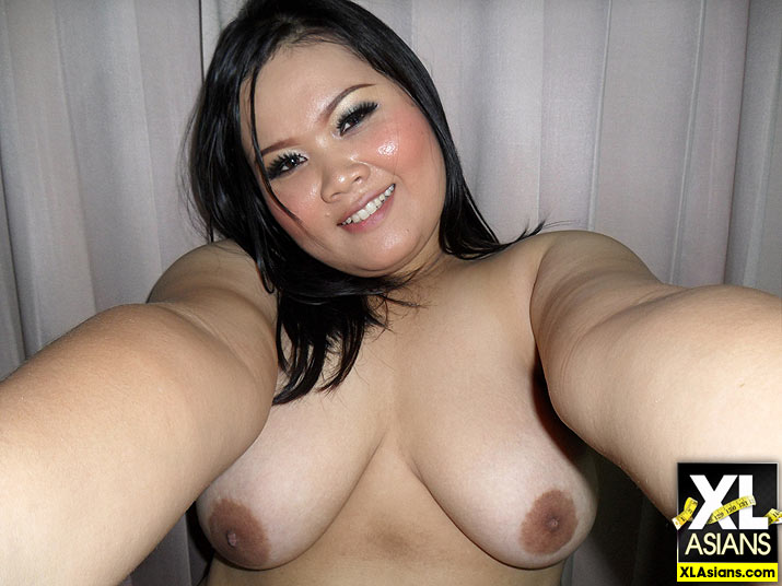 Plump Asian Jean takes dirty pictures of herself - Picture 2