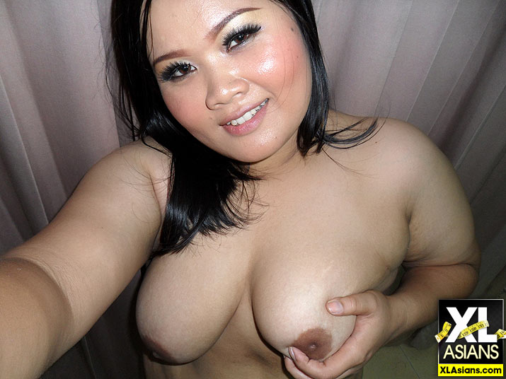 Plump Asian Jean takes dirty pictures of herself - Picture 4