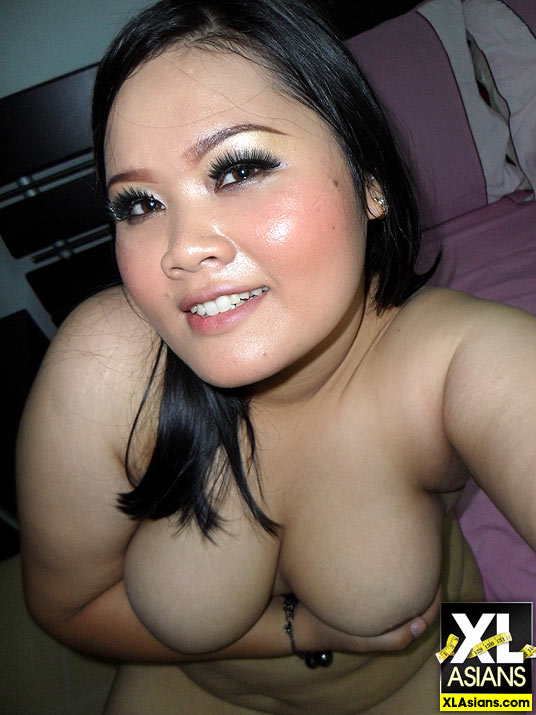 Plump Asian Jean takes dirty pictures of herself - Picture 11