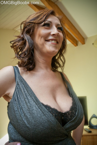 bra taking Girl boobs her big off