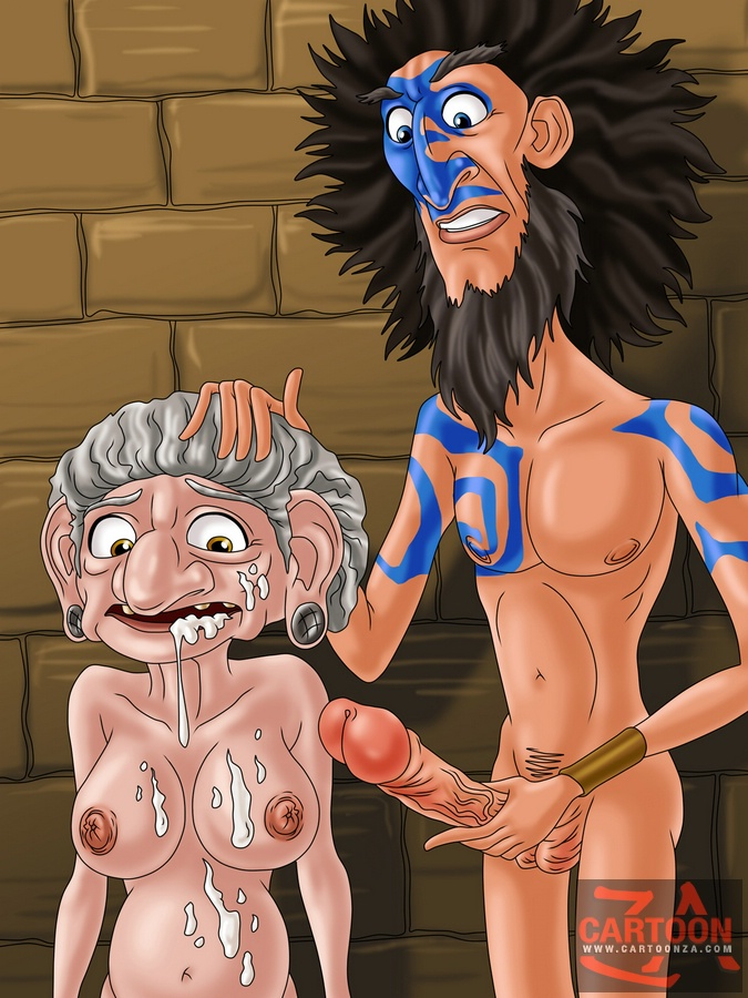 Hot chicks and granny porn from a cartoon - Cartoon Sex - Picture 1