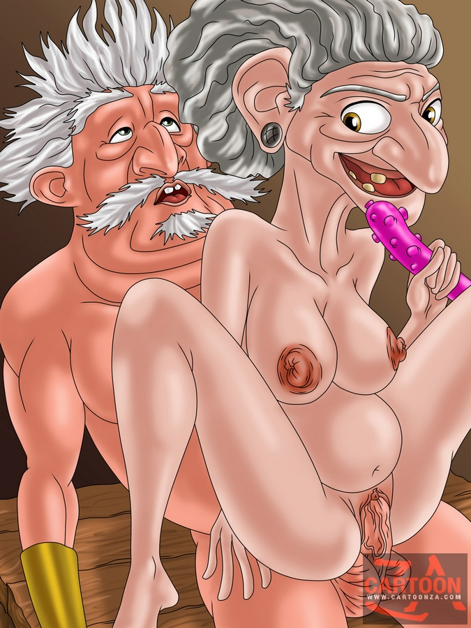 Hot chicks and granny porn from a cartoon - Cartoon Sex - Picture 3