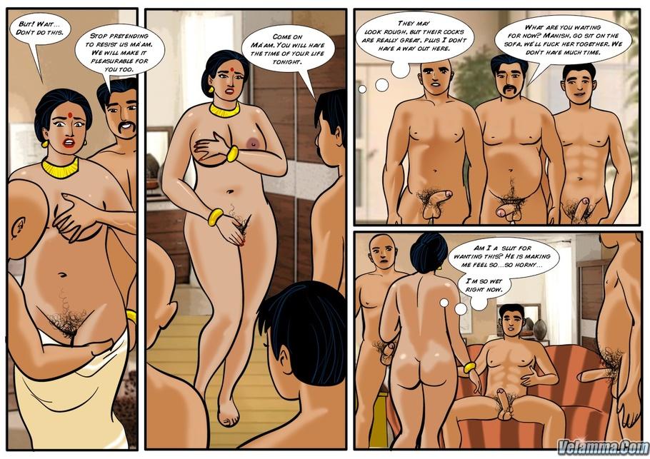 Комикс индийский порно