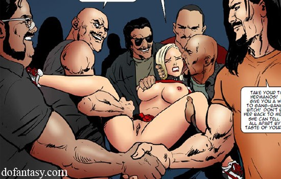 A group of horny big guys is ready to rip - Cartoon Sex - Picture 3