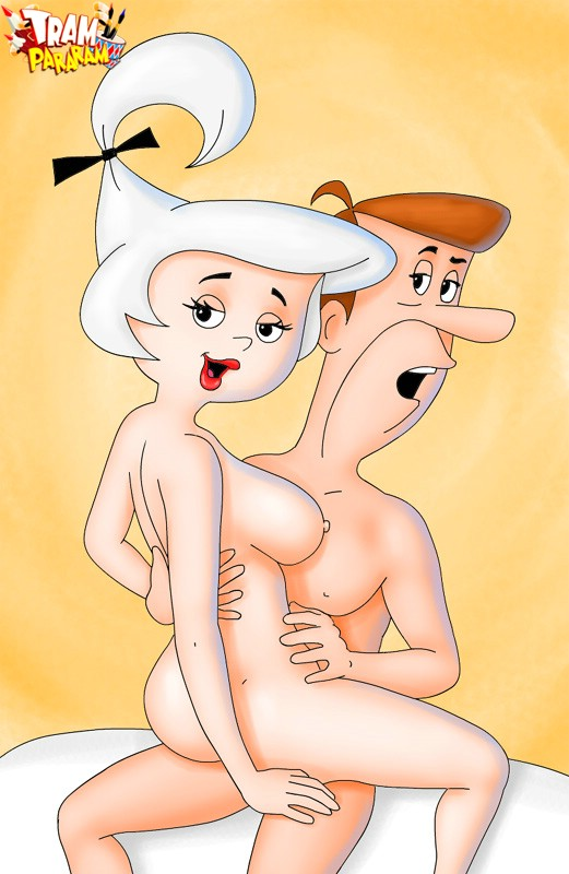 Slutty blonde Judy from Jetson gets doggystyled dirtily ...