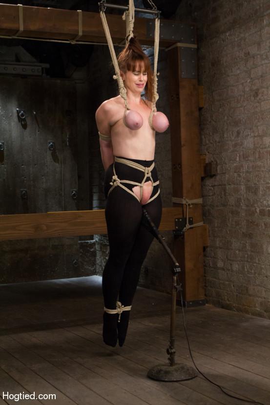 breast bondage tits tied