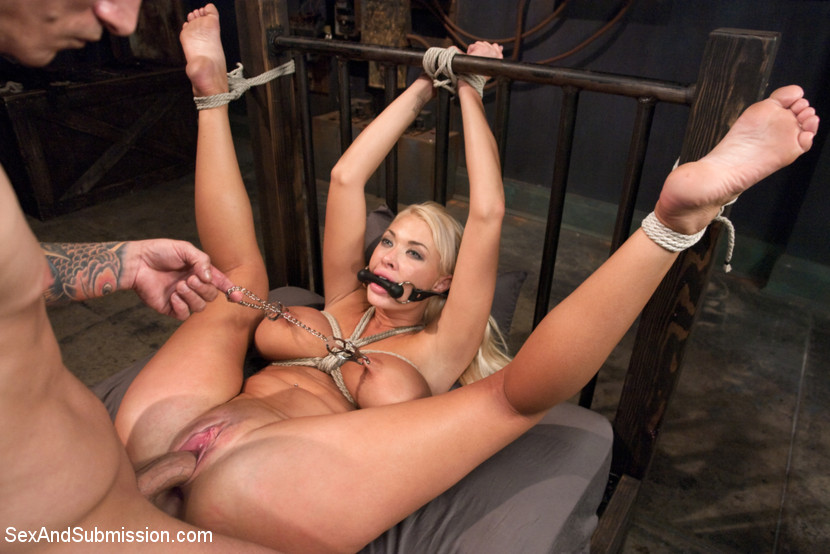 A very cherry hogtie struggle 3