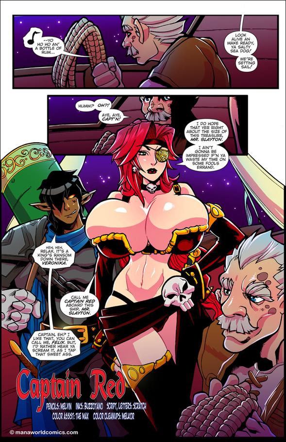 nude comics girls Pirates