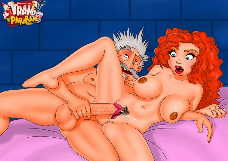 Lustful MILF from Dexter's Lab and Merida from porn Brave ...
