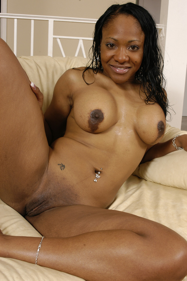 Pink fishnet clad Pebbles porked wit white dick on the - Picture 5