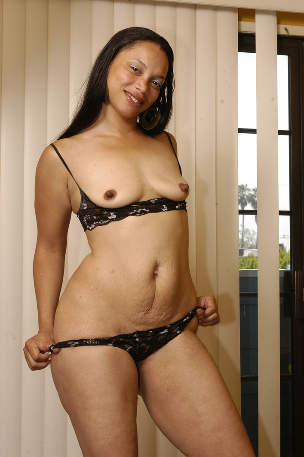 fat small tits black - Lingerie clad Keisha Kamble has small tits and a fat ass - Picture 5