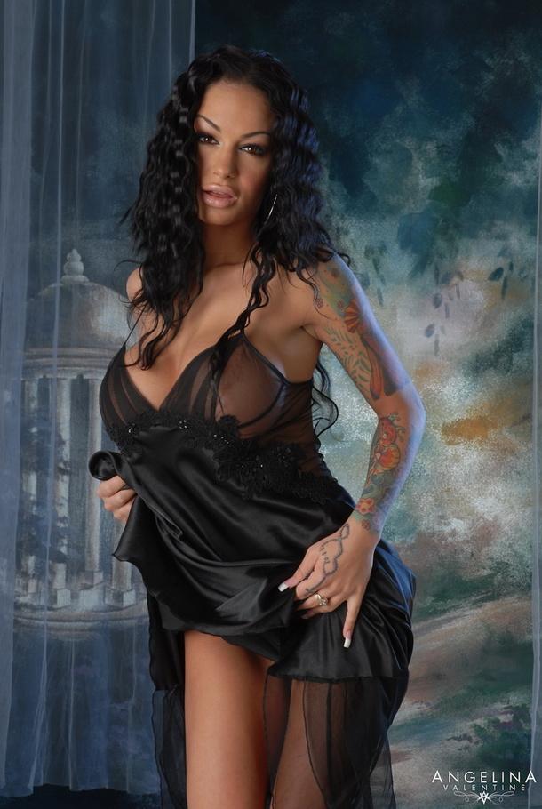 Lingerie tranny porn star