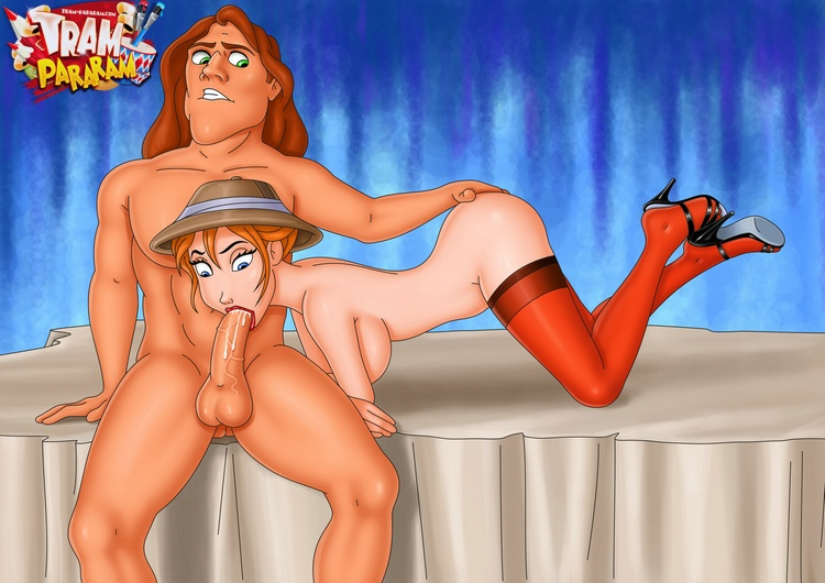 porn Tarzan cartoon