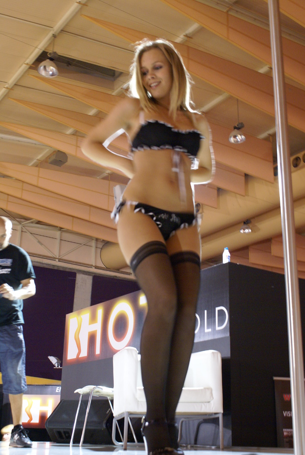 Hot striptease black lingerie bottle fuck rammstein moves 2
