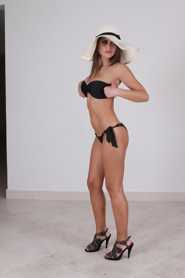 Pornstar with a hat