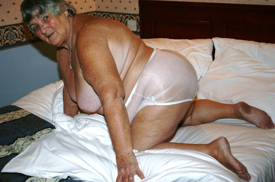 Nasty Granny Shows Her Huge Breasts Then Strips Off Her ...