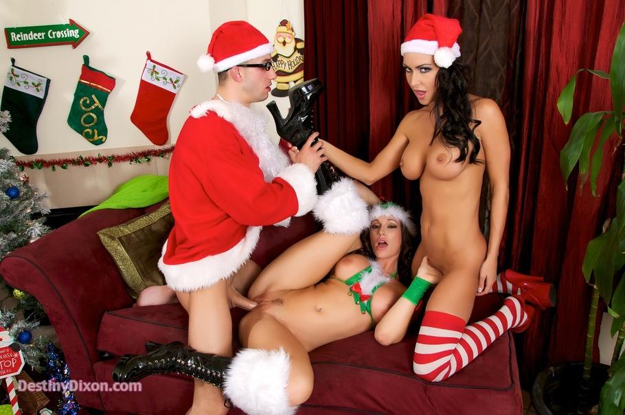 новогодний секс порно ролики