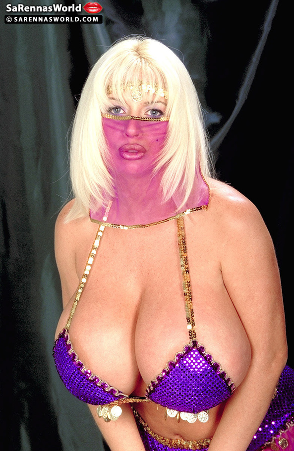 Pretty blonde big tits