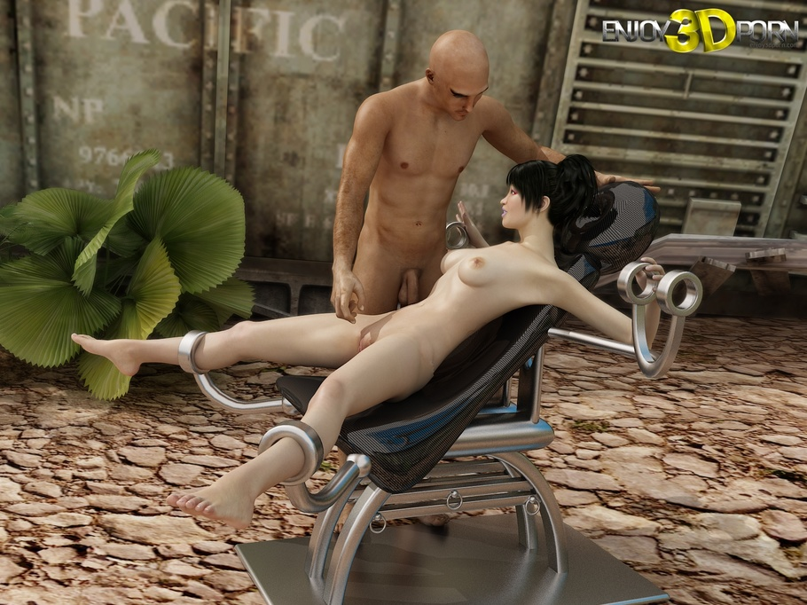 3d cartoon babe with big tits getting dicked hard 2