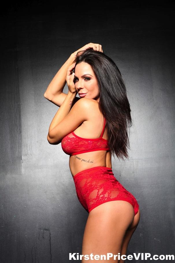 Brunette stunner with long hair Kirsten Price arranges a stripping show № 1021217 без смс