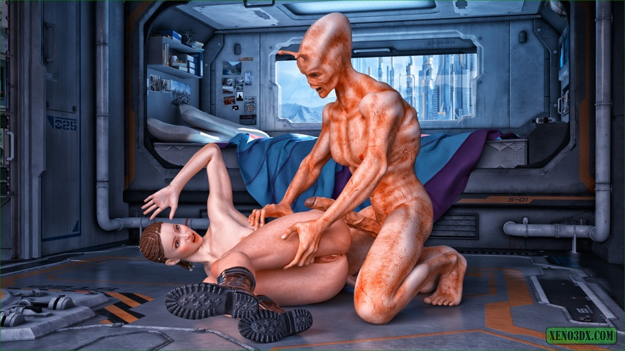 Fucked by and alien