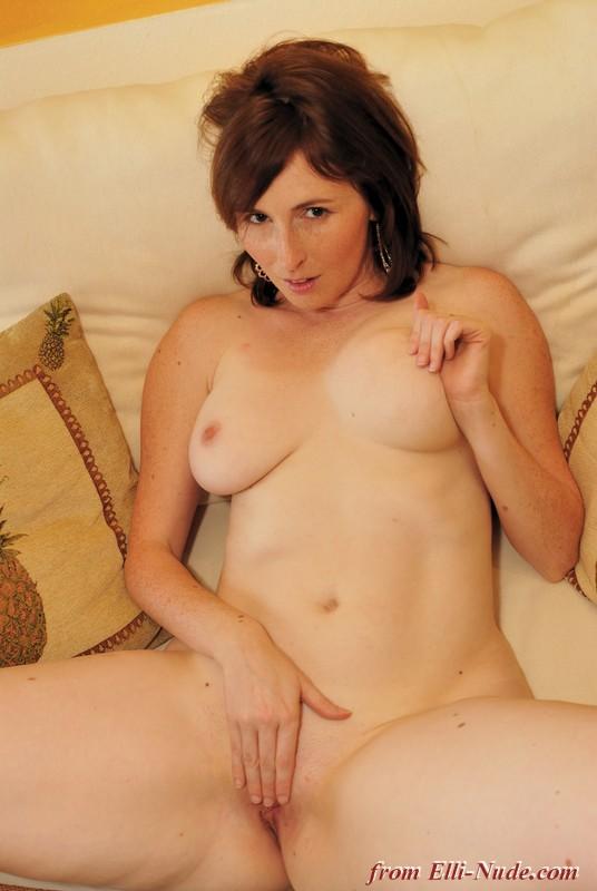 Nude redhead elli