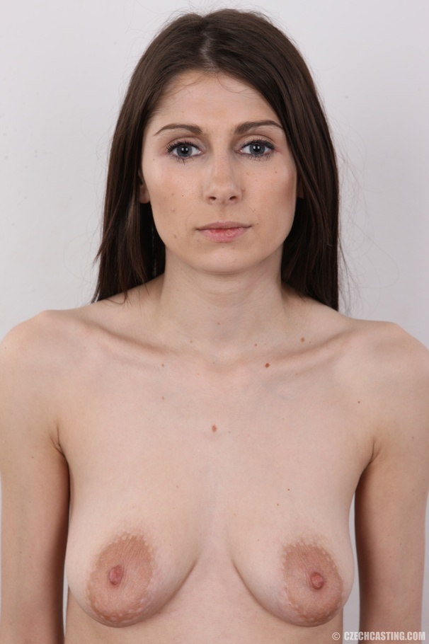 big brunette tits skinny Nude