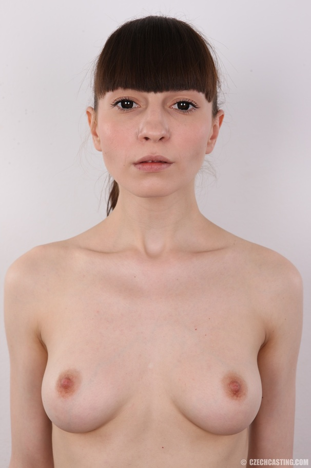 A sexy brunette shows her blow job skills sucking 4 big black cocks alternately