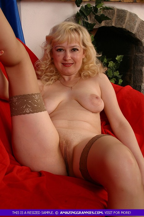 over 60 Beautiful naked blonde grannies