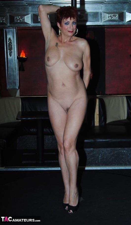 stripper pole on Girl