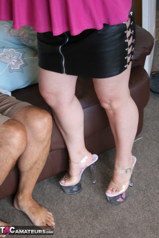 Middle-aged amateur has her man strip her naked before they fuck  2145738