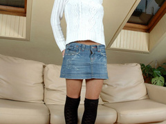 Petite dark haired teen cutie has unbelieveable huge - Picture 2