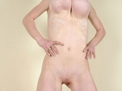 Totally naked with sweet twat and big tits going wild - Picture 6