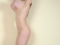 Totally naked with sweet twat and big tits going wild - Picture 8