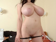 Adorable young hottie with unbelievable big boobs wants - Picture 8
