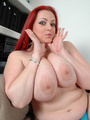 BBW redhead stunner with heavy melons - Picture 4