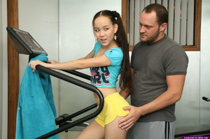 Cute Amai Liu shows her skill at emptying the balls of a lucky dude - XXXonXXX - Pic 1