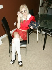 Sexy School Girl - XXX Dessert - Picture 1