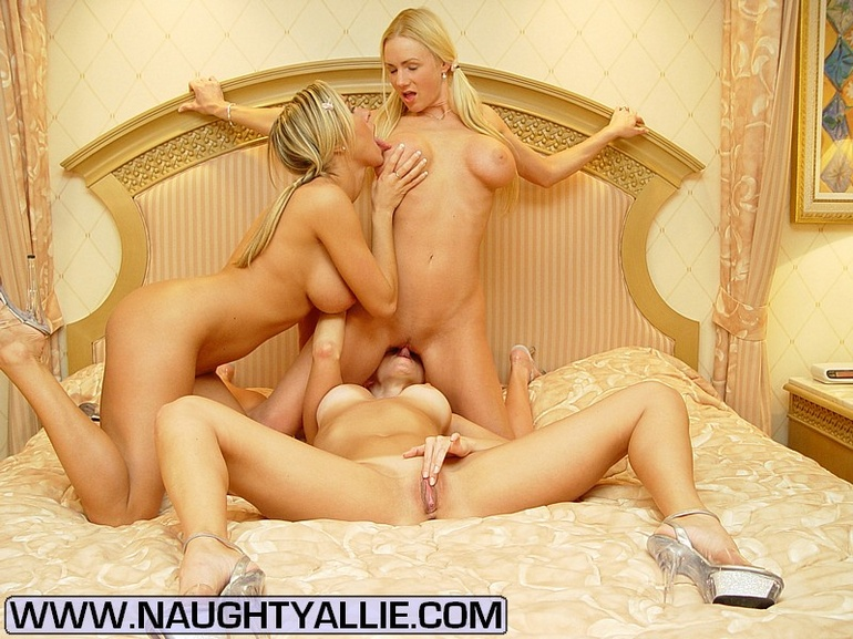 Allie eats my pussy after seeing my website 10