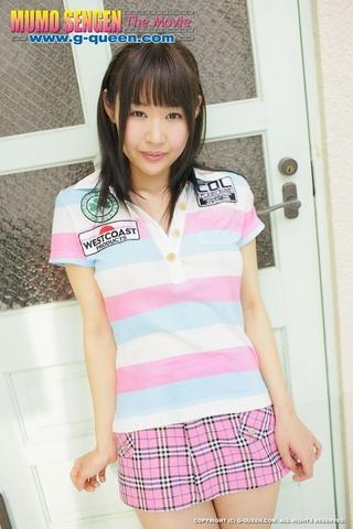 asian school girl short